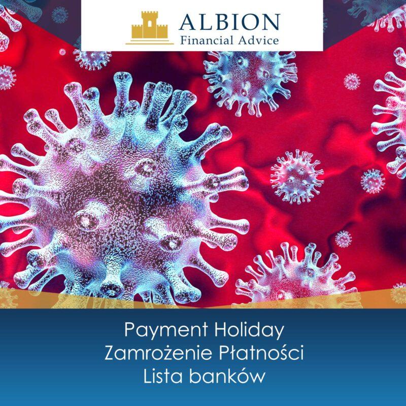 Zamrozenie platnosci - payment holiday